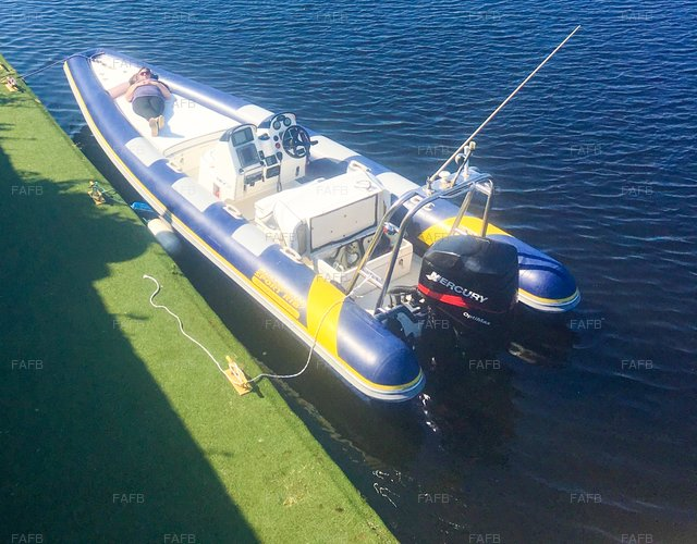 Pascoe SR7 Offshore Rib with New 200hp - picture 1
